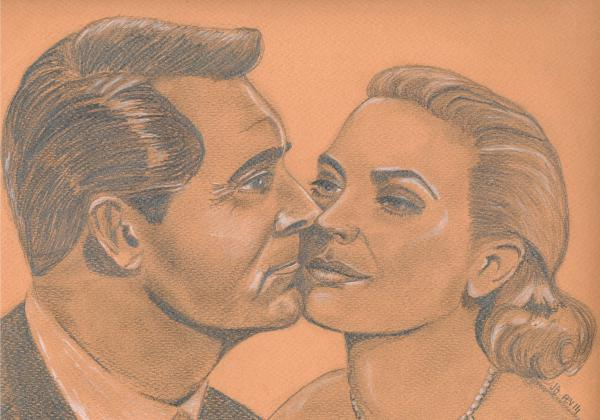 Grace Kelly, Cary Grant by grasshopers